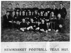 Newmarket Football Team 1927 County Final Runners Up