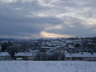 Newmarket in Snow