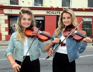 Niamh and Siobhain O'Sullivan - Photo by Sheila Fitzgerald.